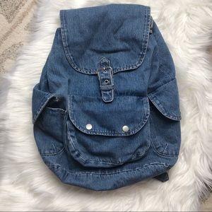 Lulu's Denim Backpack